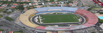 Foto Aérea do Estádio Estádio Cicero Pompeu de Toledo - Morumbi