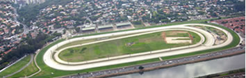 Foto Aérea do Jockey Club no Butantã